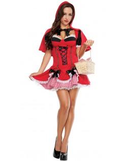 Miss Lille Rødhætte Kostume