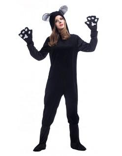 Sort Katte Kostume Til Kvinder