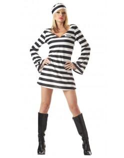 Halloween Klassiske Fange Kostume Til Kvinder