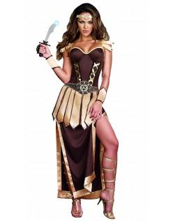 Gladiator Kostume Frække Trojansk Kriger Kostume