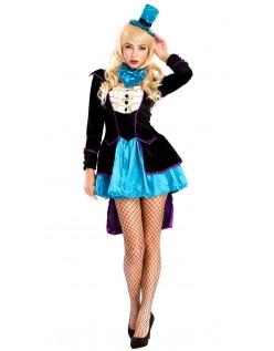 Mischievous Mad Hatter Kostume Til Kvinder