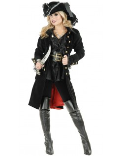 Halloween Pirat Vixen Kostume til Voksne