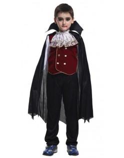 Ædle Halloween Vampyr Kostume Til Børn
