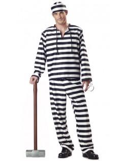 Halloween Klassiske Fange Kostume Til Mænd