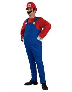Deluxe Mario og Luigi Kostumer Mario Kostume Voksne