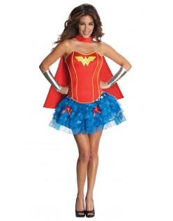 Frække Korset Wonder Woman Kostume