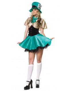 Teselskab Værtinde Mad Hatter Kostume