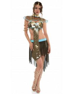 Frække Halloween Egyptisk Prinsesse Kostume