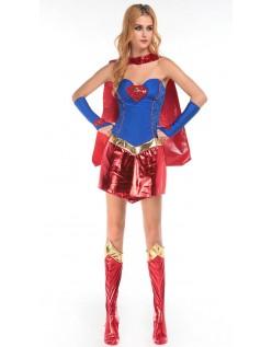 Frække Superhelte Supergirl Kostume