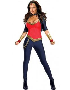 Deluxe Wonder Woman Kostume Til Voksne