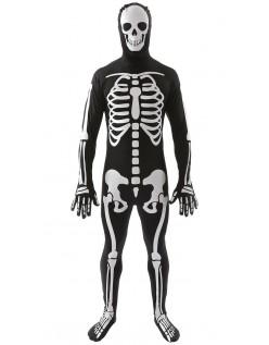 Halloween Skelet Kostume Til Mænd