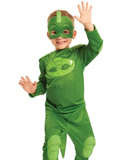 PJ Masks Kostume Gekko Superhelte Børnekostume