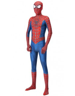 Klassisk Raimi Spiderman Kostume Børn og Voksne