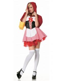 Tjener Lille Rødhætte Kostume