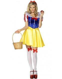 Feber Fairytale Snehvide Kostume Prinsessekjole