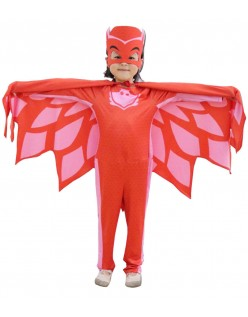 PJ Masks Kostume Owlette Superhelte Børnekostume