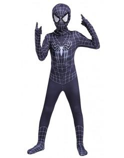 The Amazing Spiderman Kostume Børn og Voksne Sort