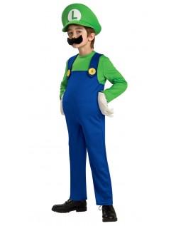 Deluxe Mario og Luigi Kostumer Luigi Kostume Børn