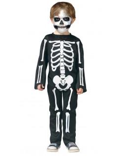 Halloween Skelet Kostume Til Børn