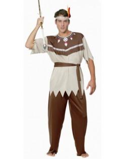 Udklædning Voksne Indianer Kostume til Mænd