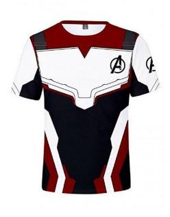 Marvel Avengers Endgame Quantum Kostume Kortærmet T-shirt