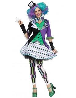 Dame Mad Hatter Kostume Alice i Eventyrland Kostumer