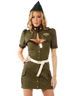 Frække Militær Kostume Større Besvær Army Kostume
