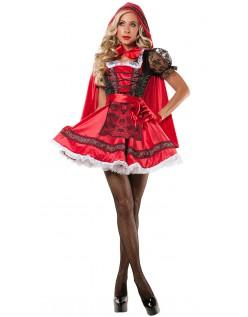 Sød Lille Rødhætte Kostume